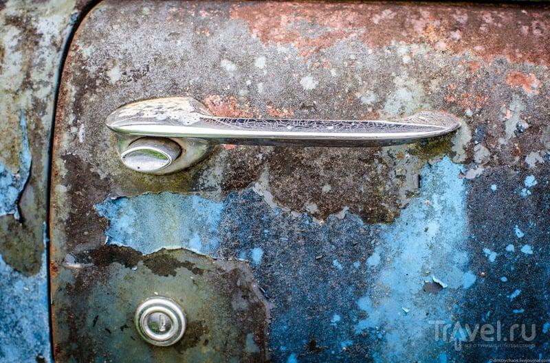 Кладбище старых автомобилей Old Car City / США