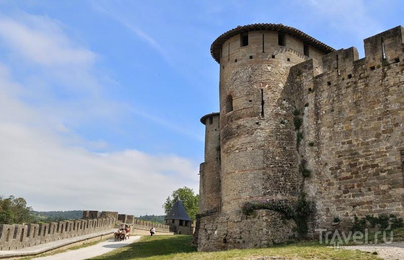 Каркассон - город в крепости / Фото из Франции