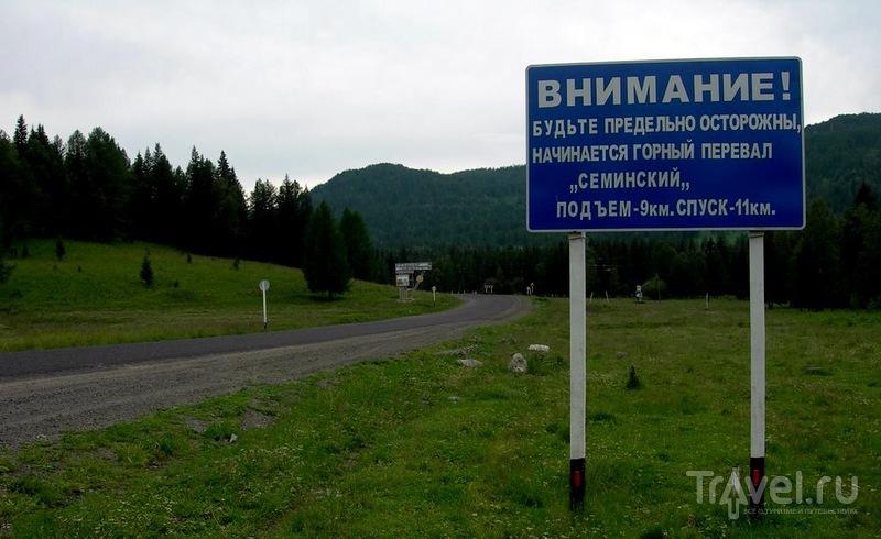 По Алтаю на машине / Фото из России