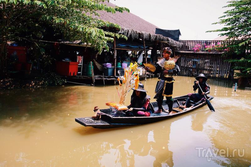 Аюттайя. Рынок, которому не сиделось / Таиланд