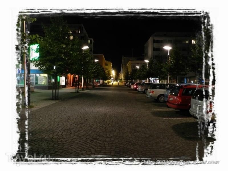 Оулу ночью и днем / Финляндия