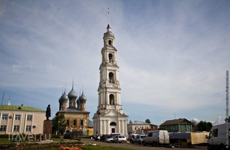 Как я лазил на колокольню в Юрьевце или Пост про умирающие города России / Россия