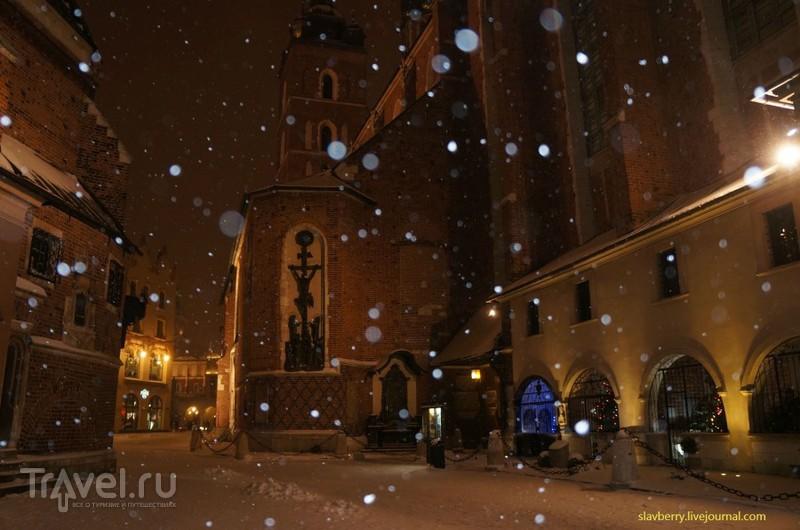 Польша. Снежная сказка в Кракове / Польша