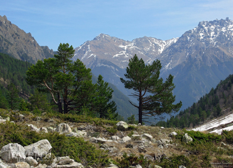По горам Кавказа в мае 2012