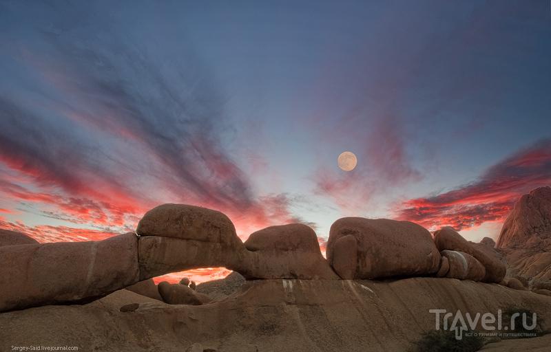 Каменные арки Шпитцкоппе / Фото из Намибии
