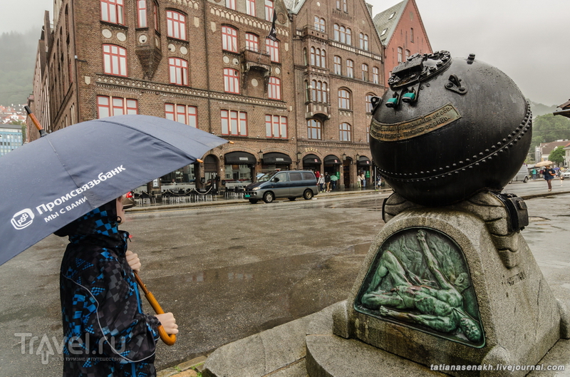 Берген. Город, в котором звучат мелодии сердца Эдварда Грига / Норвегия