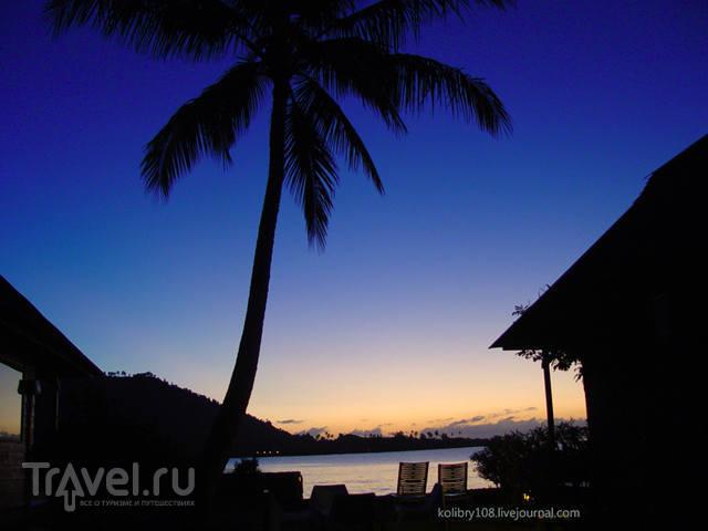 Остров Маарэ (Moorea) -  интрига раскрыта! Французская Полинезия / Французская Полинезия