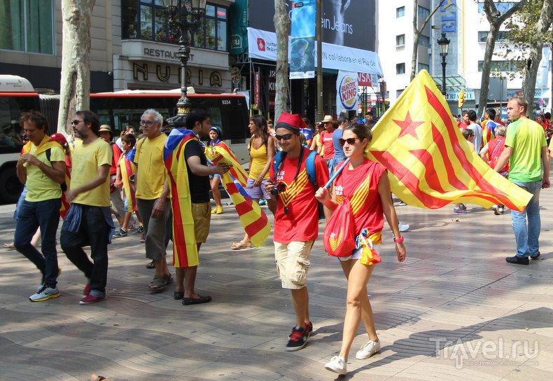 Каталония: день независимости / Испания