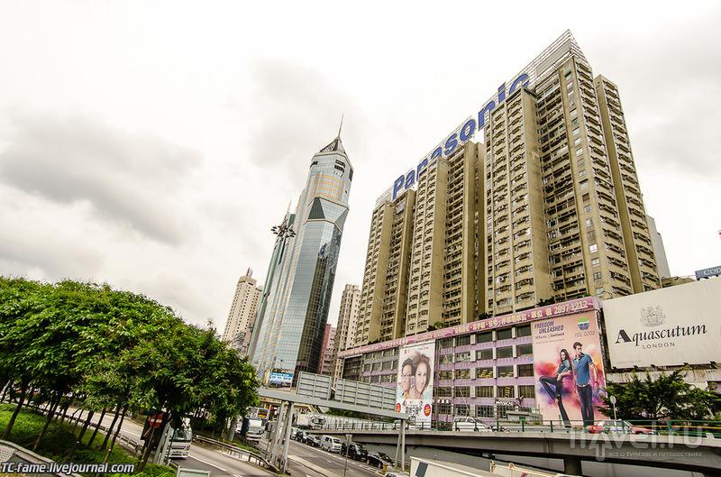Гонконг. Небоскребы / Фото из Гонконга