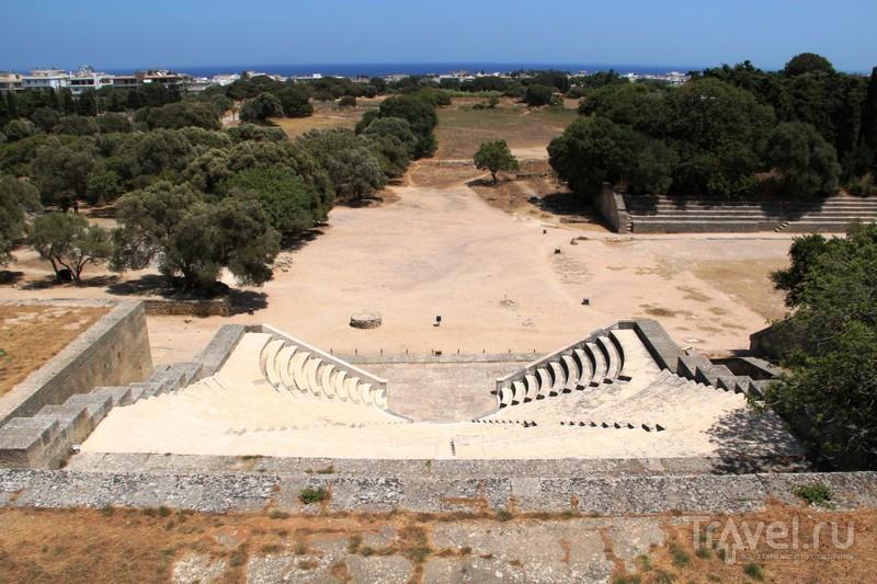 Античное наследие Родоса: Акрополь города Родос / Греция
