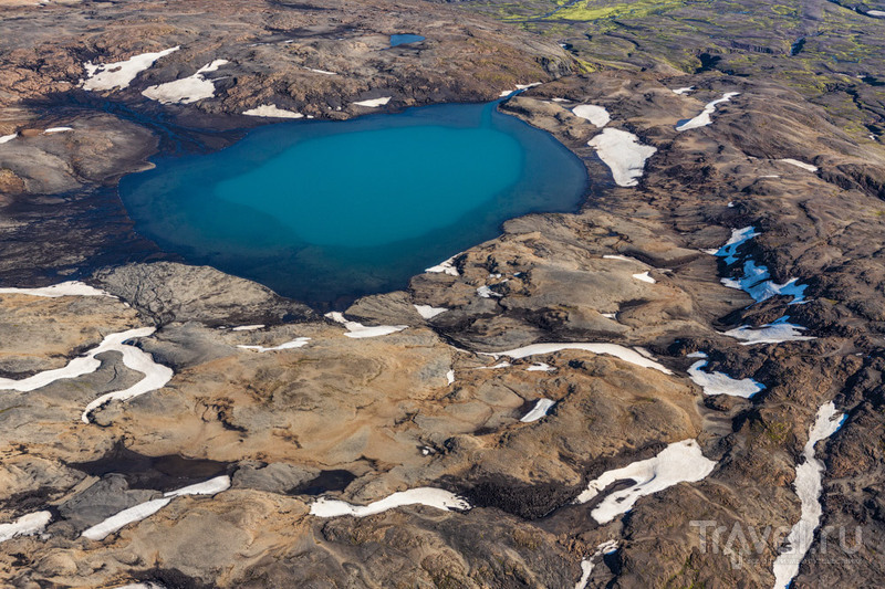 Я подниму тебя вверх - я умею летать... / Фото из Исландии