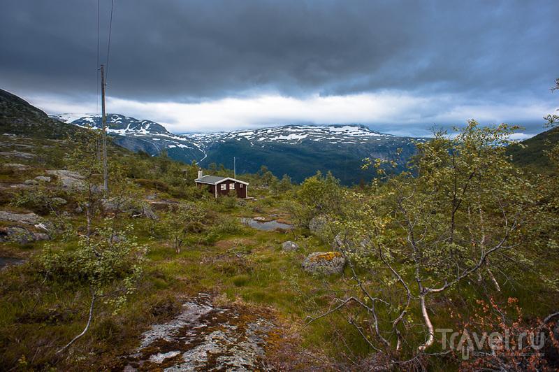 Трекинг на Язык тролля / Фото из Норвегии
