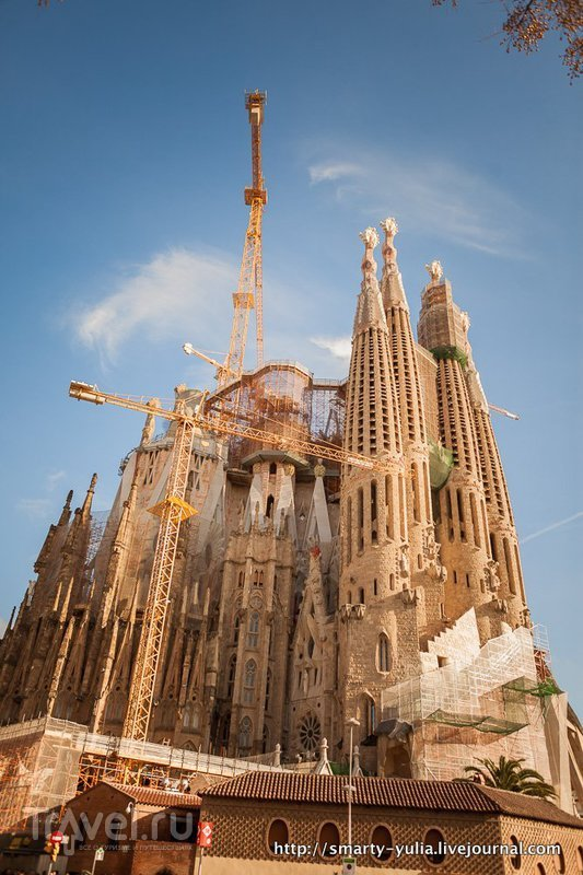 Барселона: Саграда Фамилия / Испания