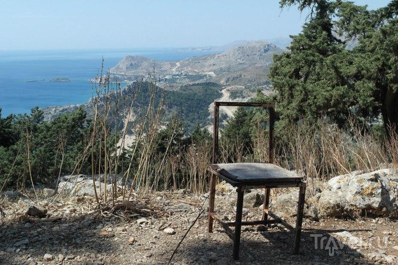 Родос, Греция - 7 источников и гора Цамбика / Греция