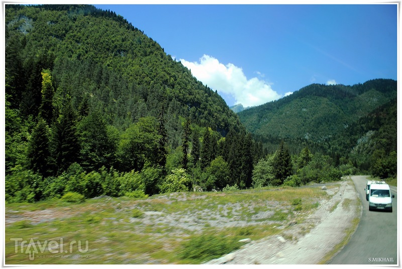 Озеро Рица - немного о грустном / Абхазия