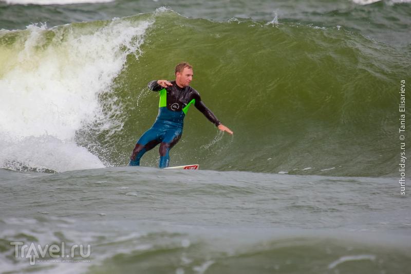 Серфинг в Калининграде. Город Зеленоградск / Россия