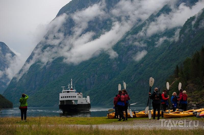 Из Ролдала в Гудванген / Фото из Норвегии