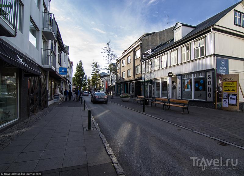 Солнечный Рейкьявик / Фото из Исландии