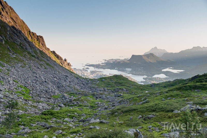 Svolvaer. В поисках каменных троллей / Фото из Норвегии