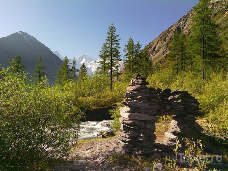 Алтай. На снежные склоны Белухи / Россия