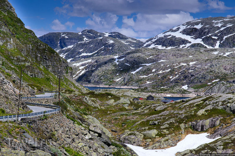 Дорога на Ролдал / Фото из Норвегии