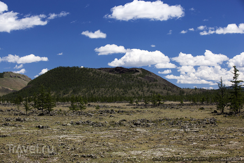 Долина потухших вулканов, вулкан Хорго / Монголия