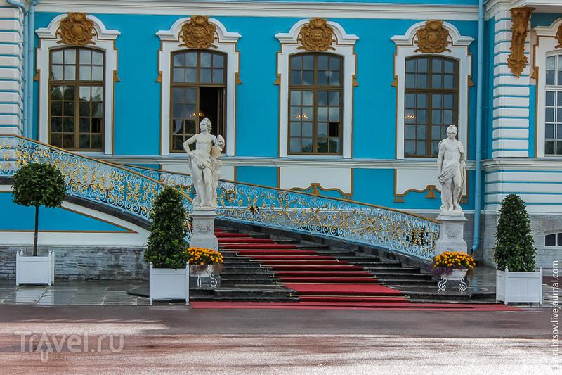 Екатерининский дворец в Царском Селе / Фото из России