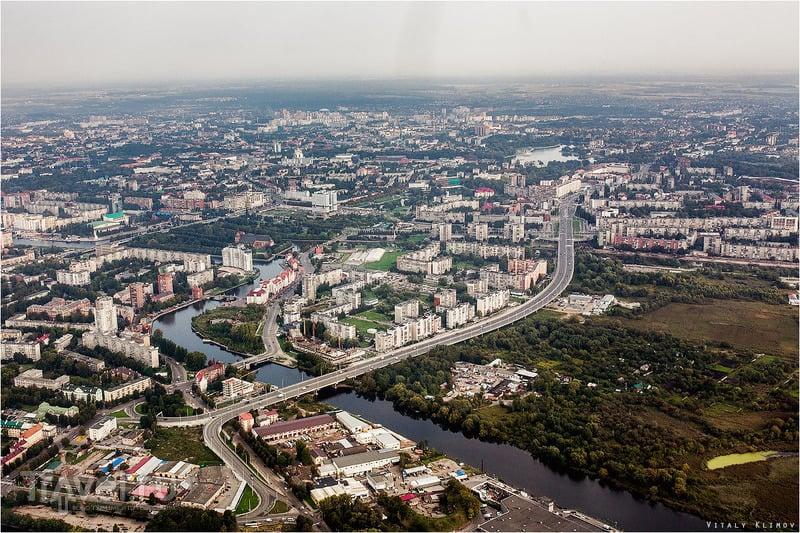 Калининград с высоты / Фото из России
