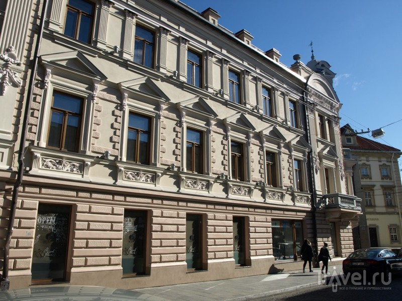 Вильнюс. Нижний Новый город / Литва