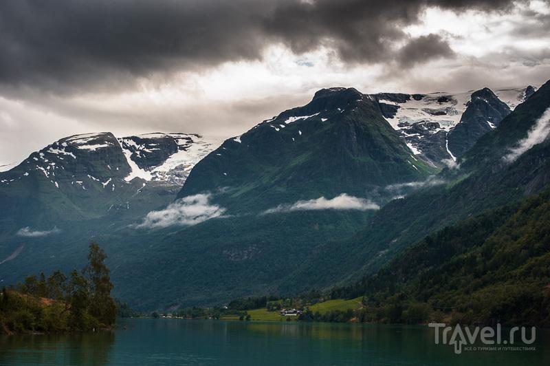 Ледник Бриксдаль / Фото из Норвегии