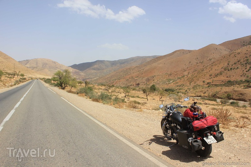 На мотоцикле в Португалию через Марокко / Фото из Чехии