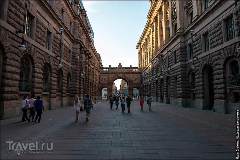 Стокгольм. Старый город / Фото из Швеции