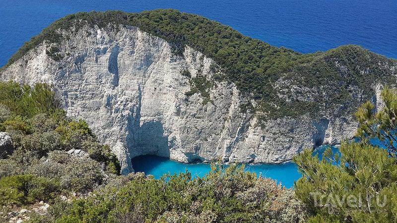 Голубые пещеры Закинфа / Фото из Греции