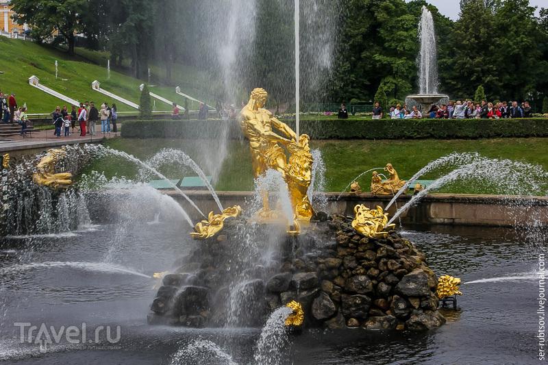Прогулка по паркам Петергофа / Фото из России