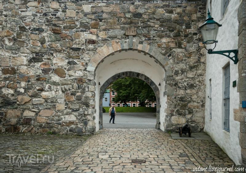 Башня Розенкранца и замок Хоконс Холл / Норвегия