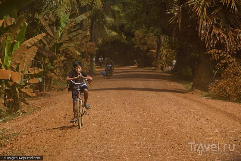 В окрестностях Ангкора / Фото из Камбоджи