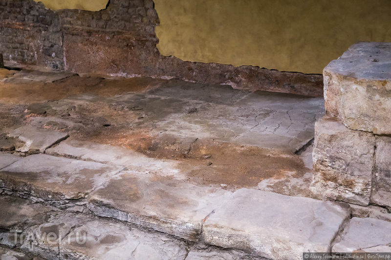 Римские бани в английском Бате / Roman Baths Bath / Фото из Великобритании