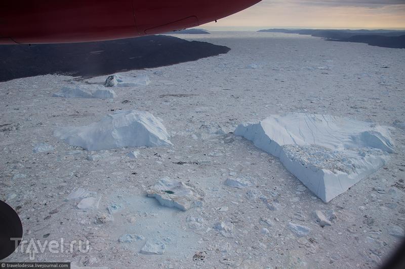 Инопланетные пейзажи Гренландии с высоты / Фото из Гренландии