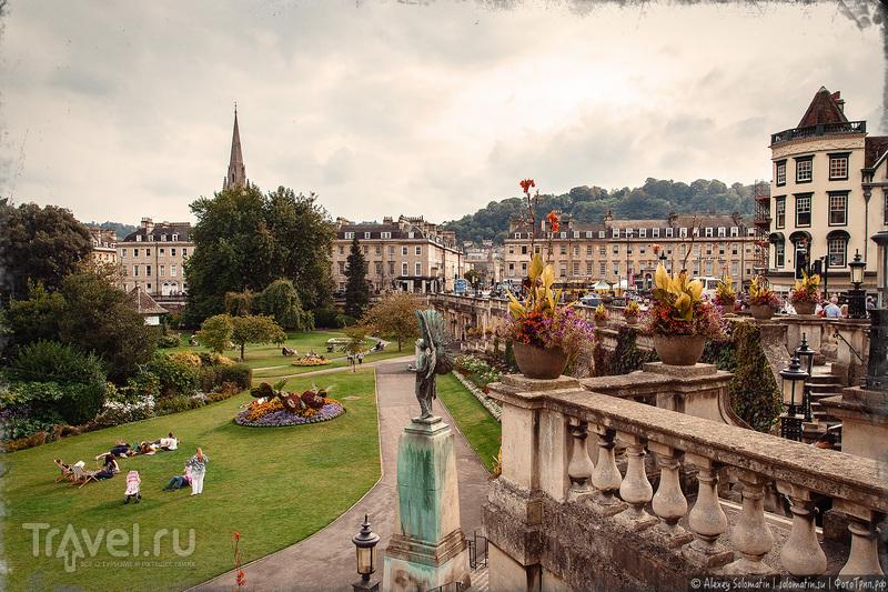 Курортный город Бат в Великобритании / Великобритания