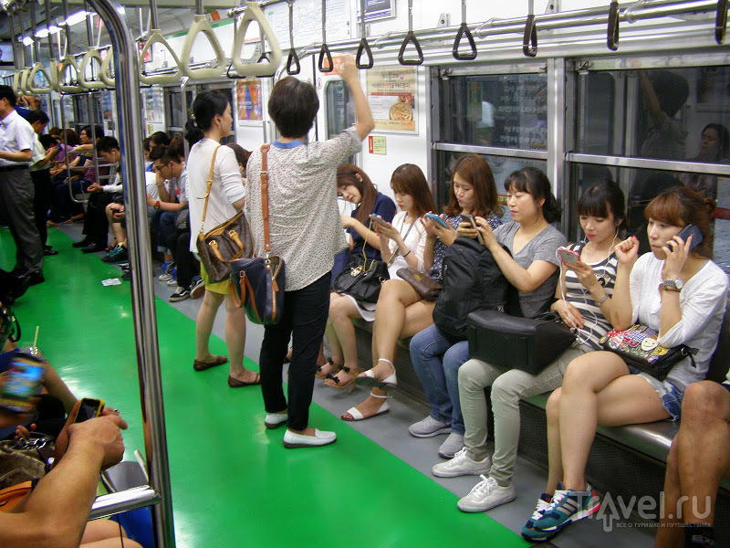 Южная Корея. Сеульское метро / Южная Корея