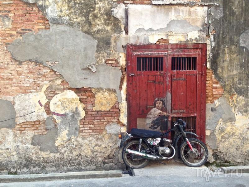 Джорджтаун, Пенанг. Оживающие стены / Малайзия