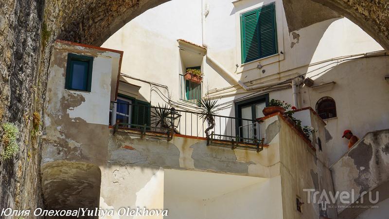 Атрани - старинный городок Амалфитанского побережья / Фото из Италии