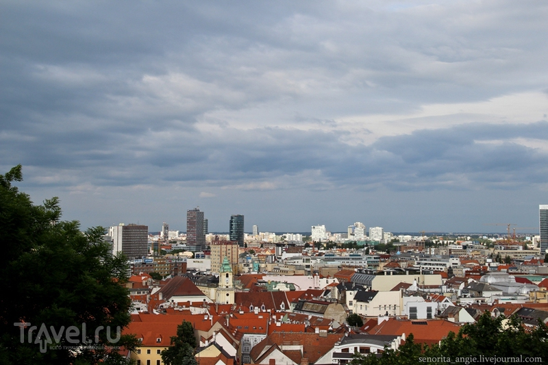 Братислава с высоты / Словакия