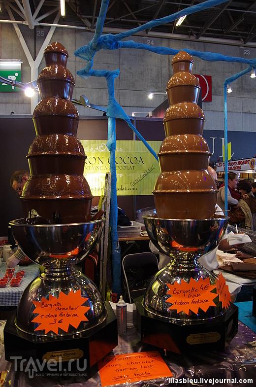 Выставка шоколада 2014 года / Франция