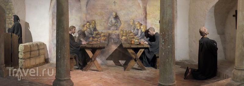 Бенедиктинское аббатство на полуострове Тихань / Фото из Венгрии
