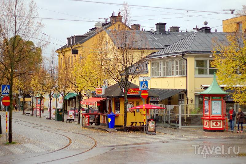 """""""Стокгольм не изменился, бульвар Страндвеген по-прежнему хорош..."""" / Фото из Швеции"""