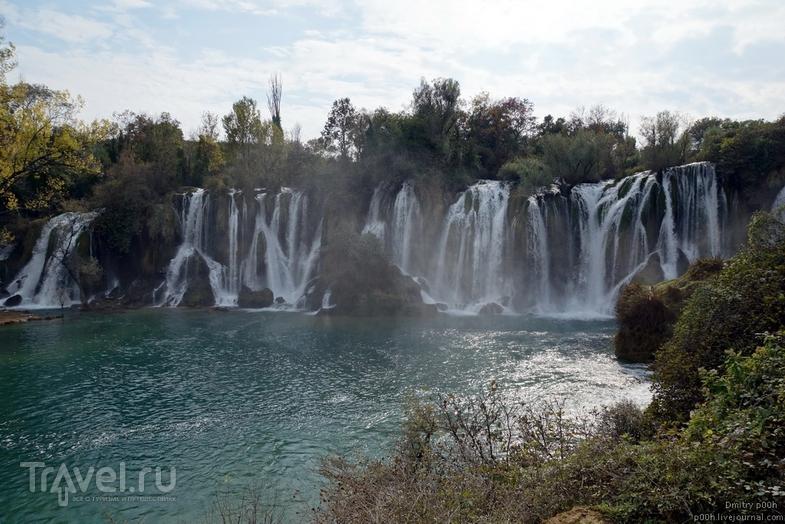 Мостар и водопад Кравица / Фото из Боснии и Герцеговины