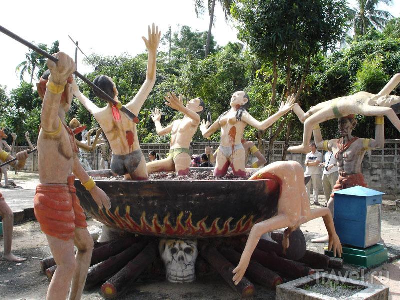 Изображение мук грешников в Аду / Таиланд