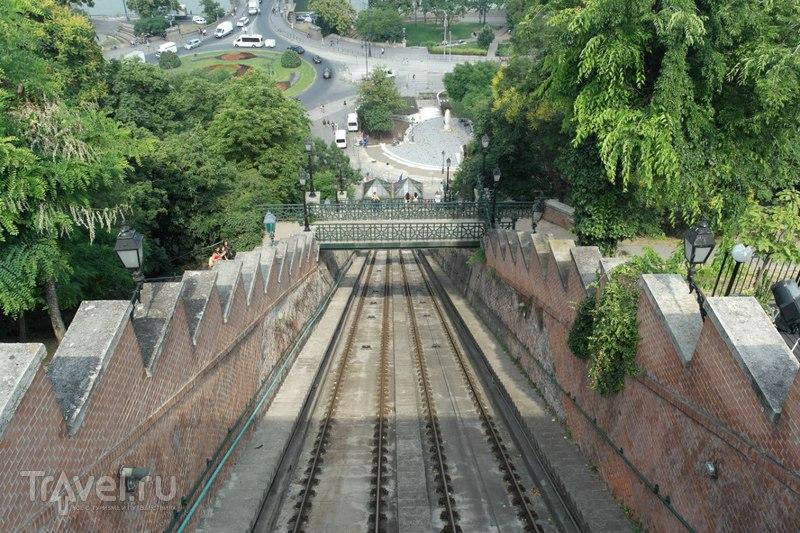 Будапешт, Венгрия - От метро Деак Ференц тер до Будайской крепости / Венгрия
