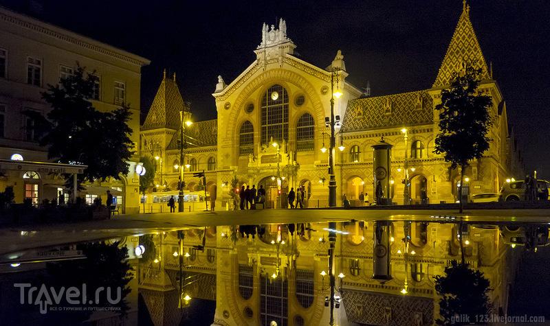Прогулки по вечернему Будапешту / Фото из Венгрии